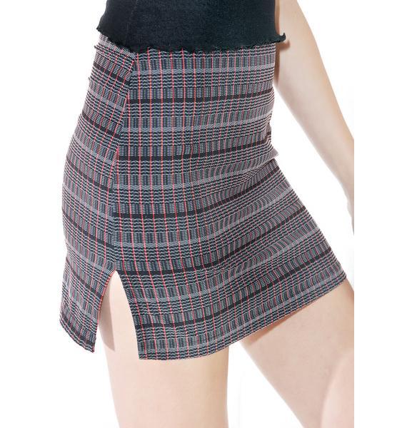 Reality Bites Mini Skirt