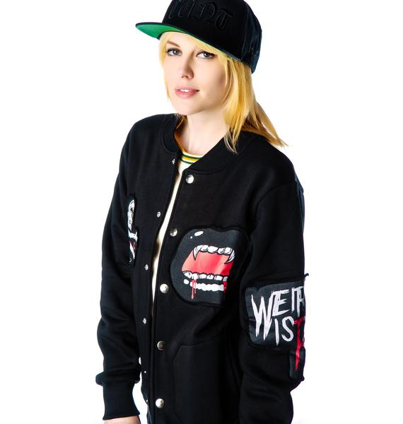 Disturbia Lone Wolf Club Jacket