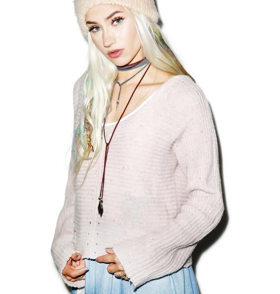 Wildfox Couture Terra Crop Sweater