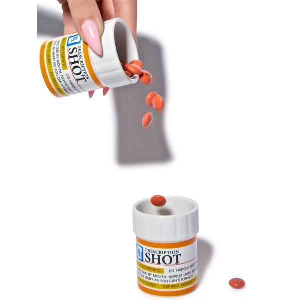Take A Chill Pill Shot Glass Set