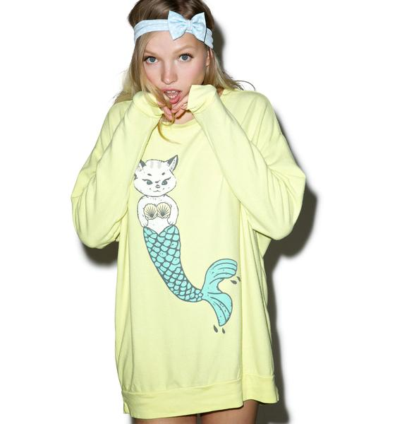 Wildfox Couture Merkitten Road Trip Sweater