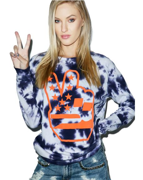 Peace Out Sweatshirt