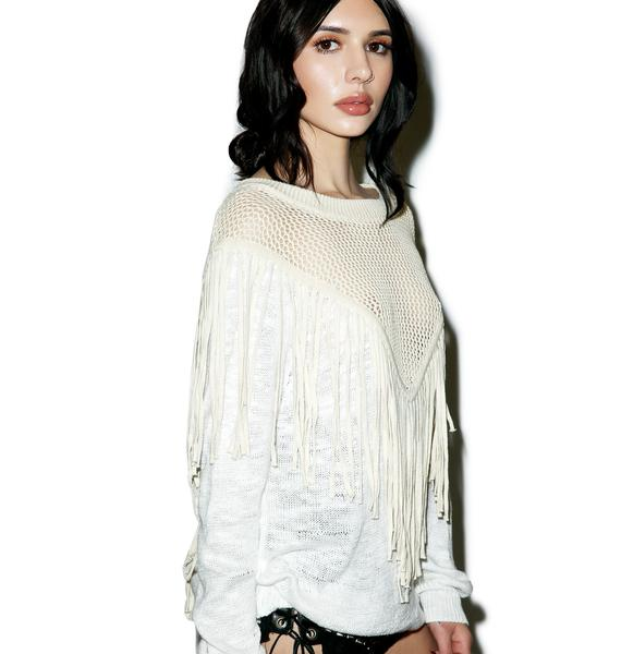 Wildfox Couture Lucky Charm Tawny Sweater