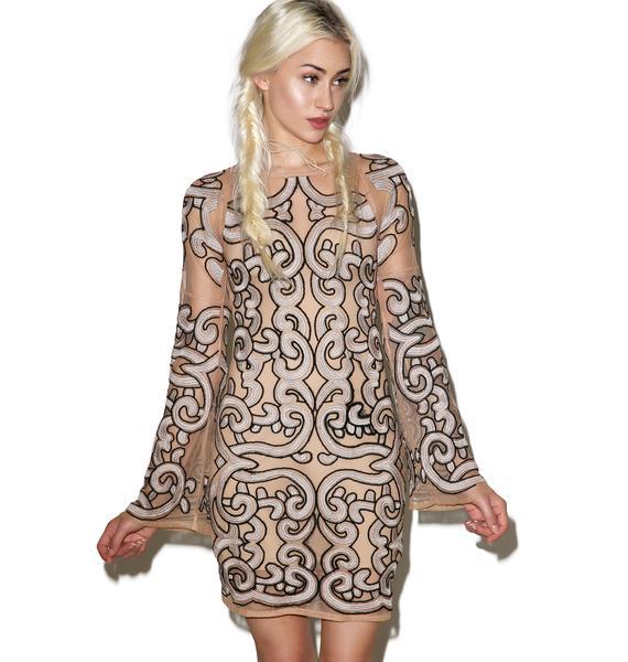 For Love & Lemons Antonina Mini Dress