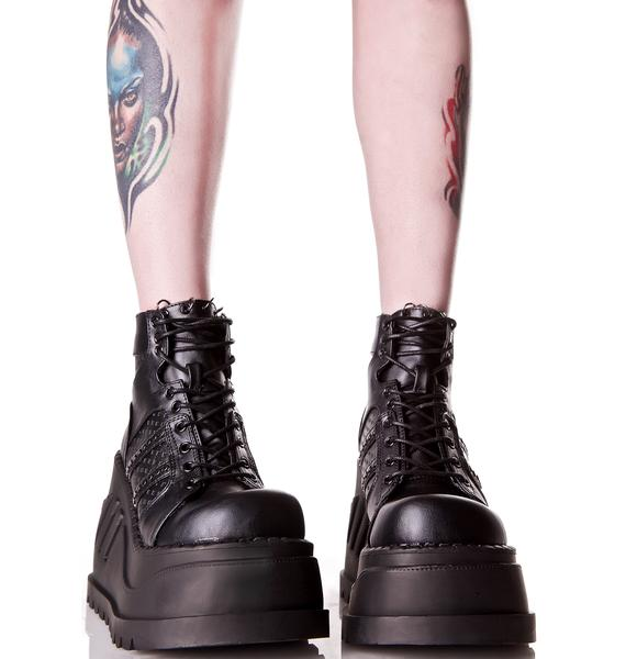 Demonia Analog Stomp Boots