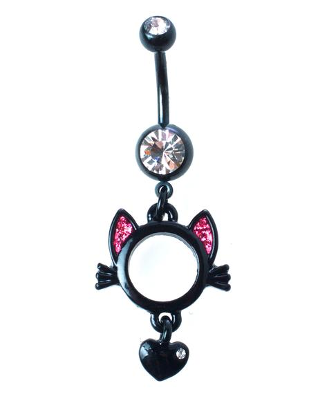 Pussycat Belly Ring
