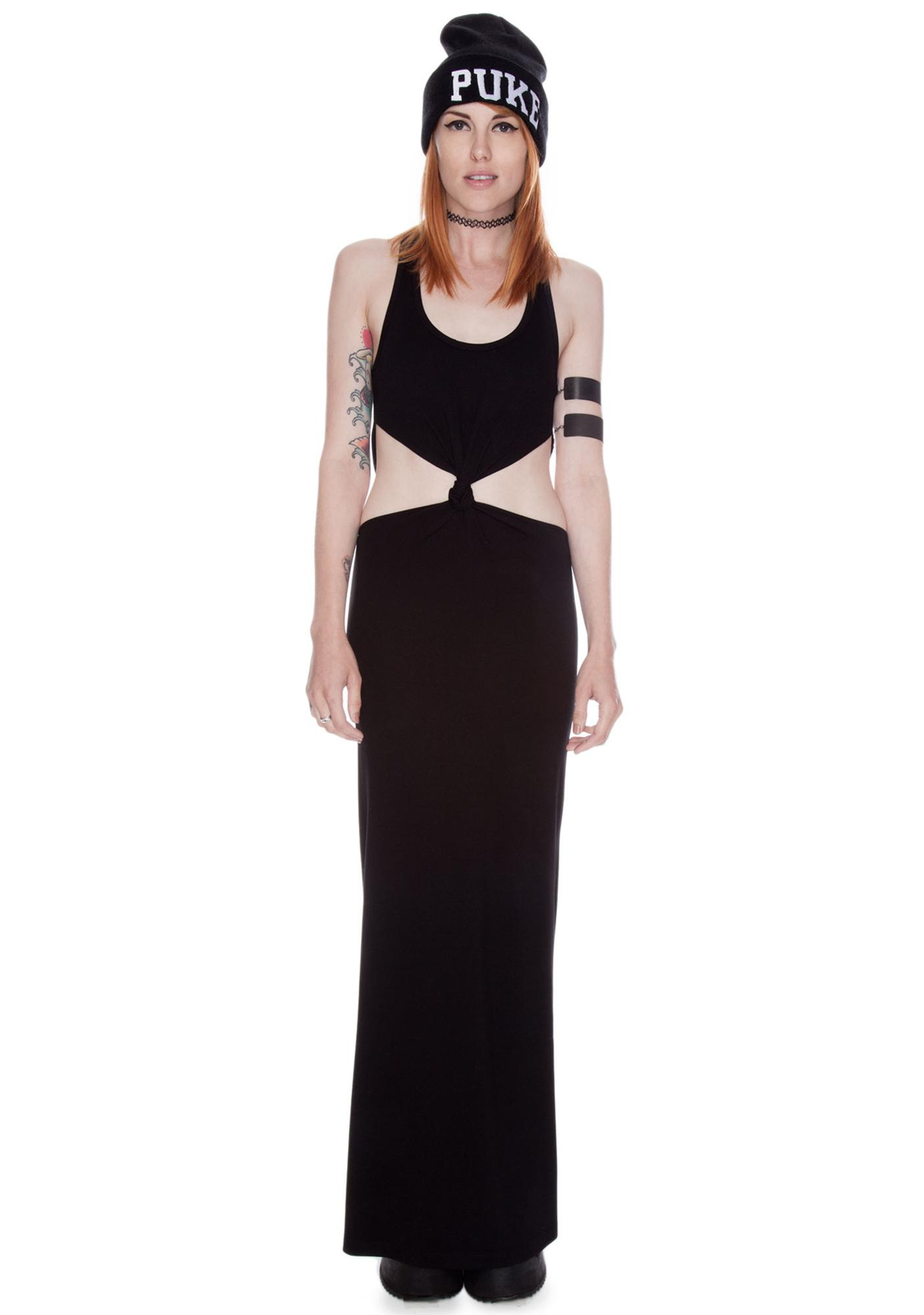 by Ronny Kobo Katie Knot Maxi Dress