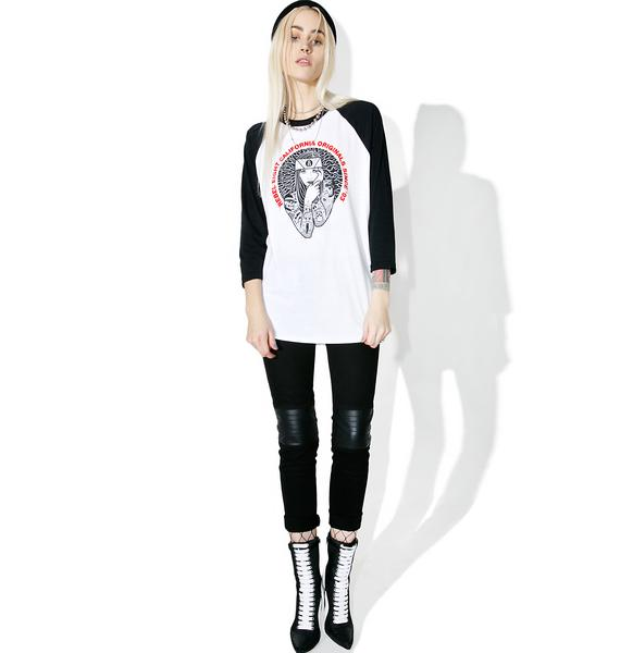 Rebel8 Lady Eight Raglan