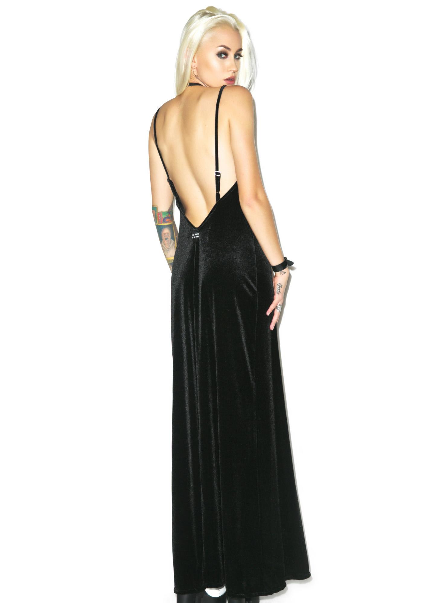 Jac Vanek Velvet Paris Maxi Dress