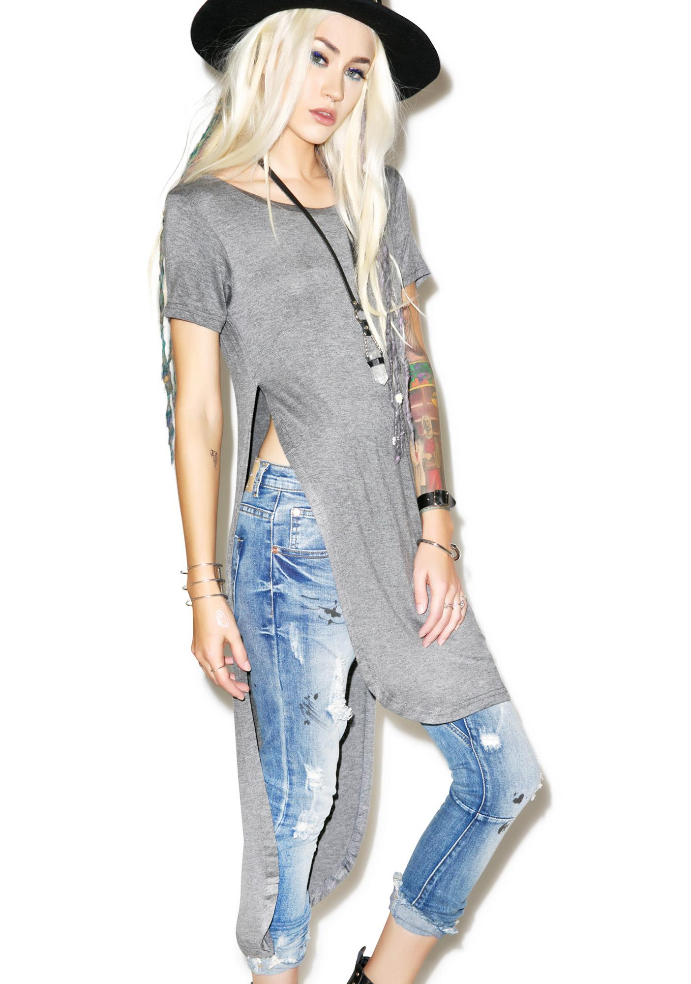 Chill Out High Low Tunic