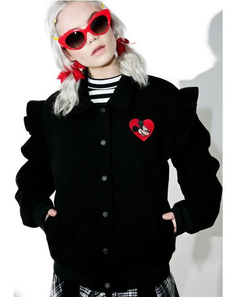 X Disney Mickey Mouse Bomber Jacket