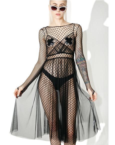 Femme Fatale Sheer Dress