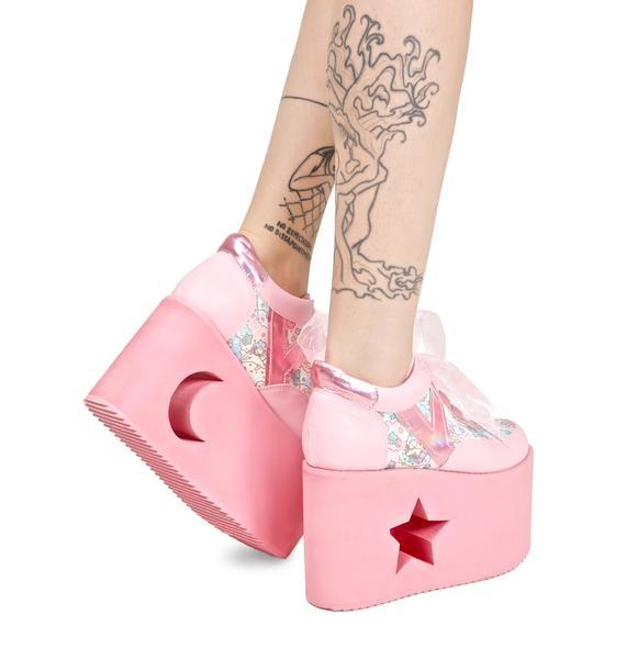 Y.R.U. X Dolls Kill Little Twin Stars Qozmo Lo Platforms