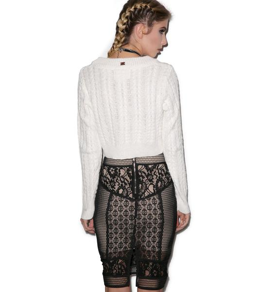 Garden Of Eden Lace Skirt