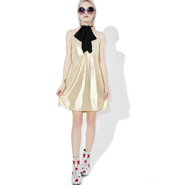 Motel Gold Londe Slip Dress