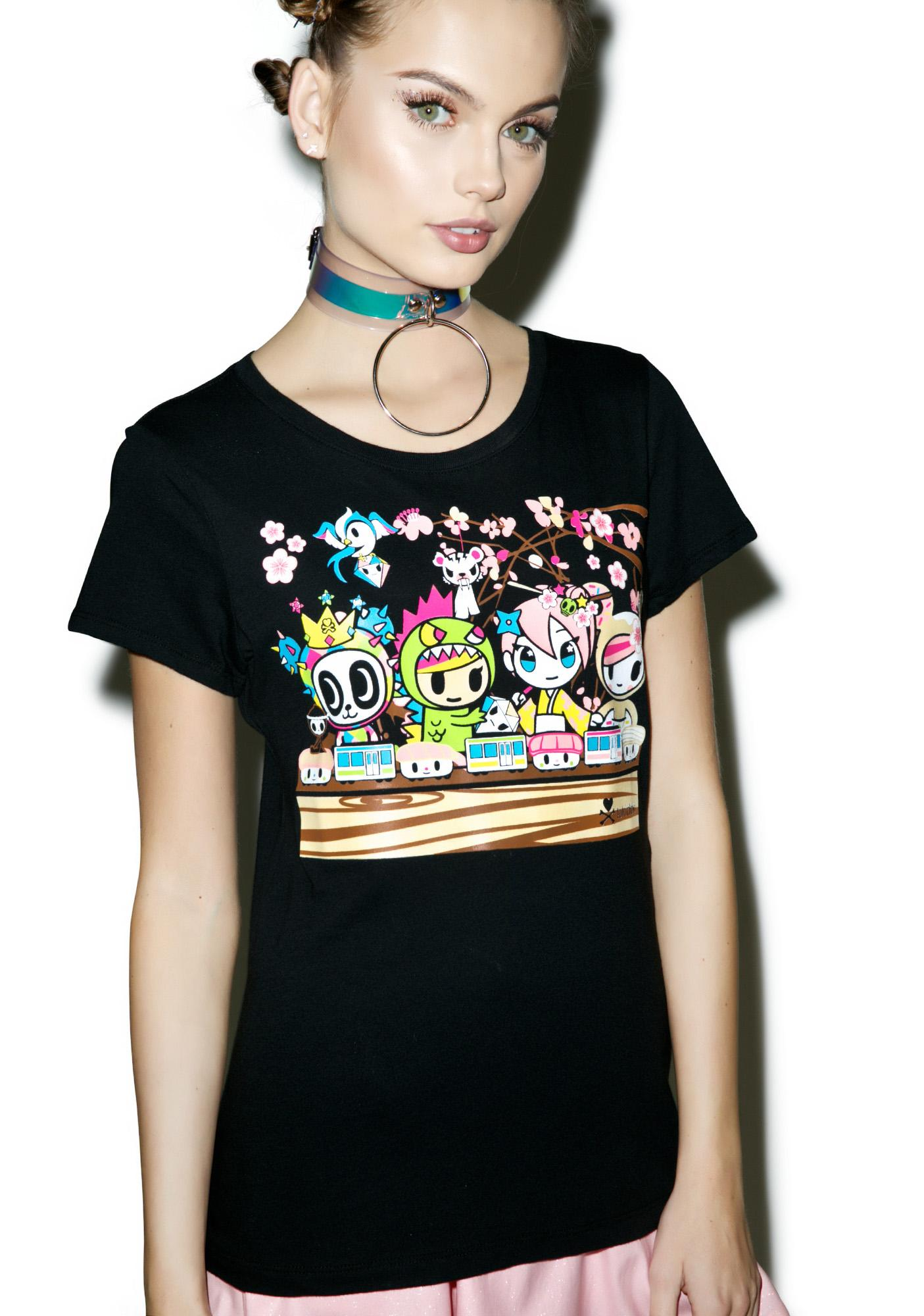 Tokidoki Densha T-Shirt