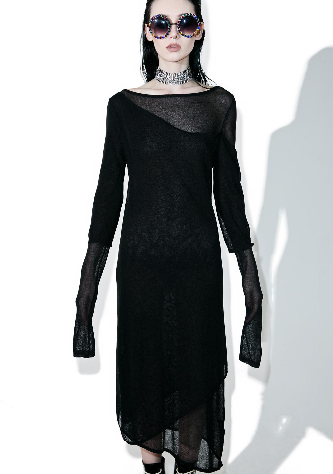 Disturbia Sheer Layered Dress