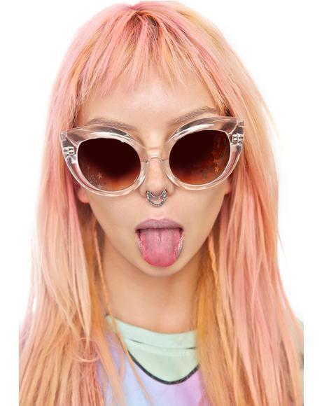The Clear Diamond Brunch Sunglasses