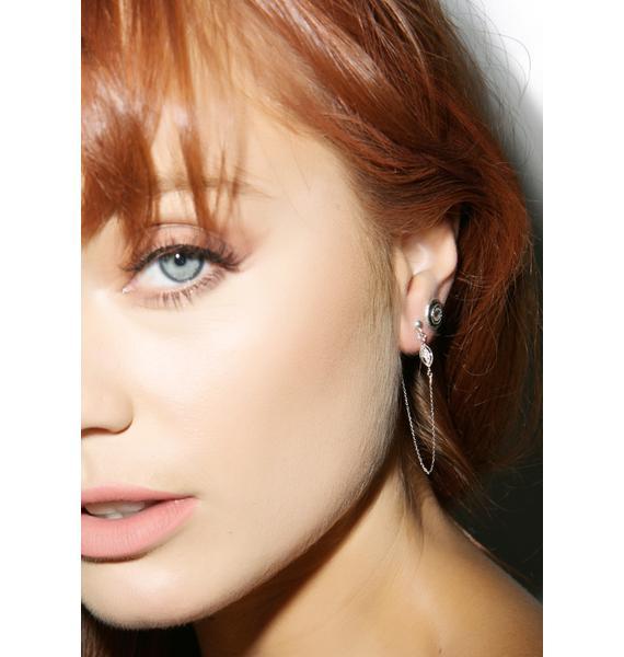 Vanessa Mooney Slow Talk Feather Earring Set