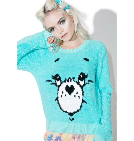 Iron Fist Wish Bear Sweater