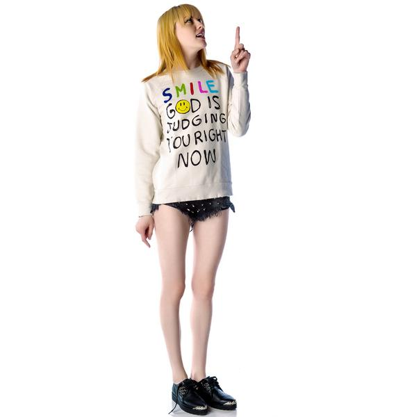 UNIF Smile Sweatshirt
