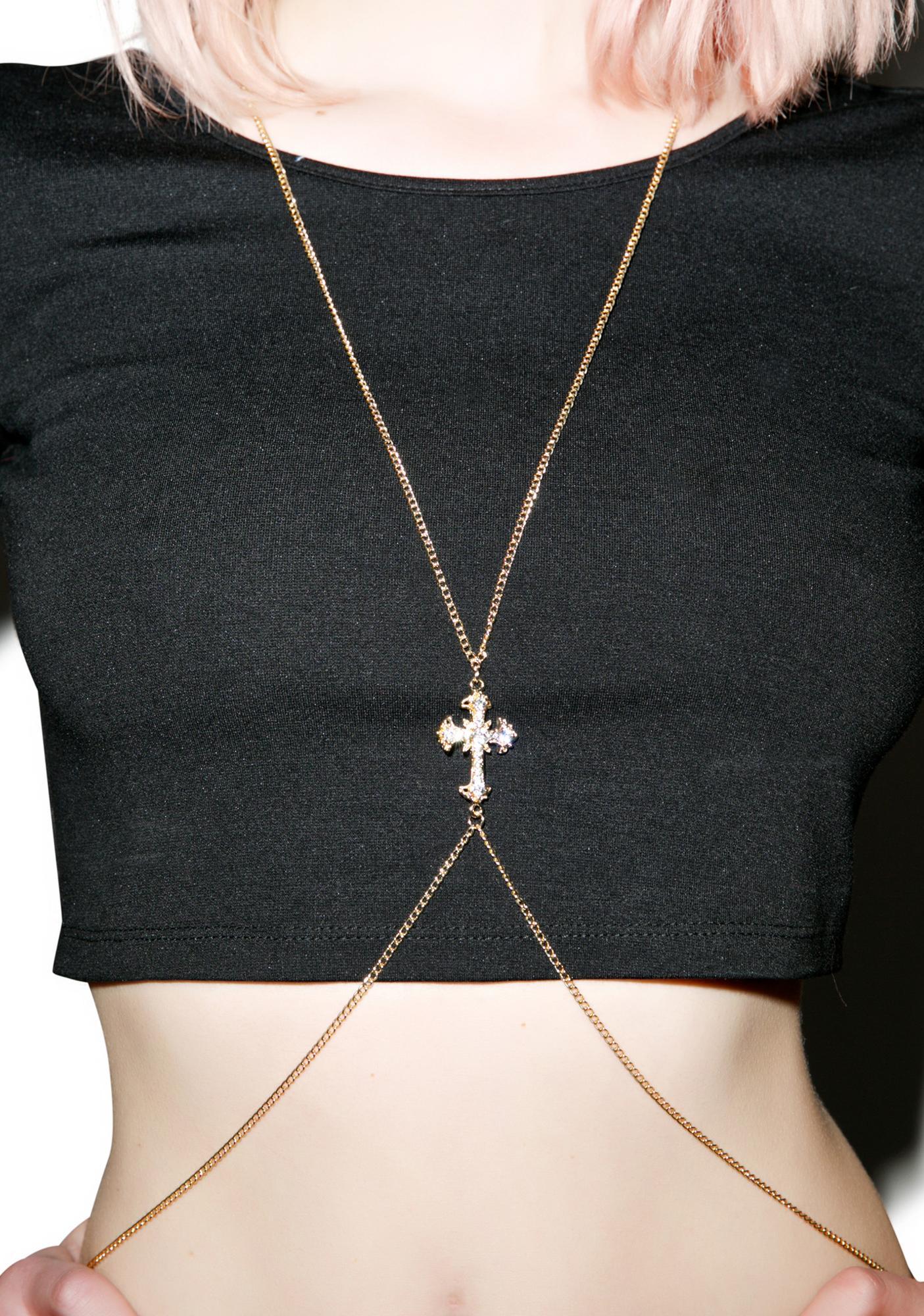 Crucify Her Soul Body Chain