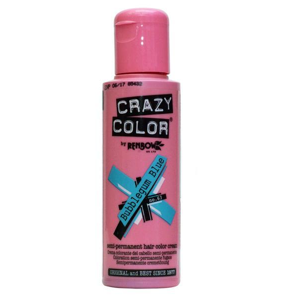 Crazy Color Bubblegum Blue Hair Dye