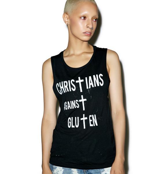 Christians Against Gluten Tank