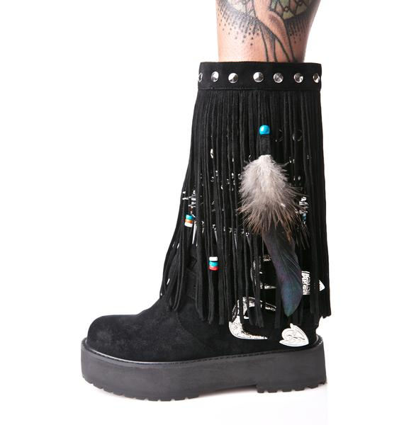 Current Mood Blackhawk Sedona Wedge Boots