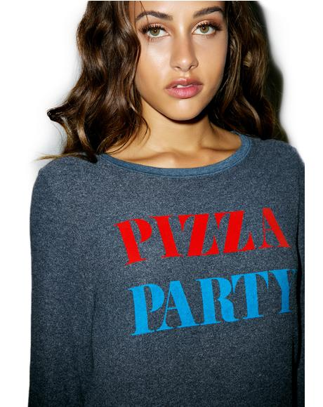 The Pizza Party Baggy Beach Jumper