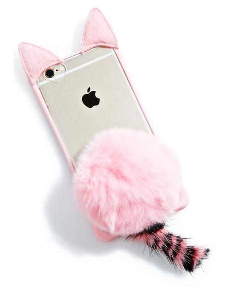 Pinky Fluff Ball iPhone 6/6+ Case