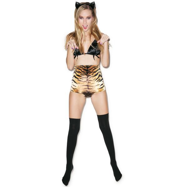 Kitty Boom High Waist Shorts