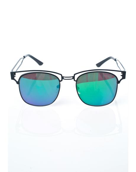 Onyx Bite Me Sunglasses