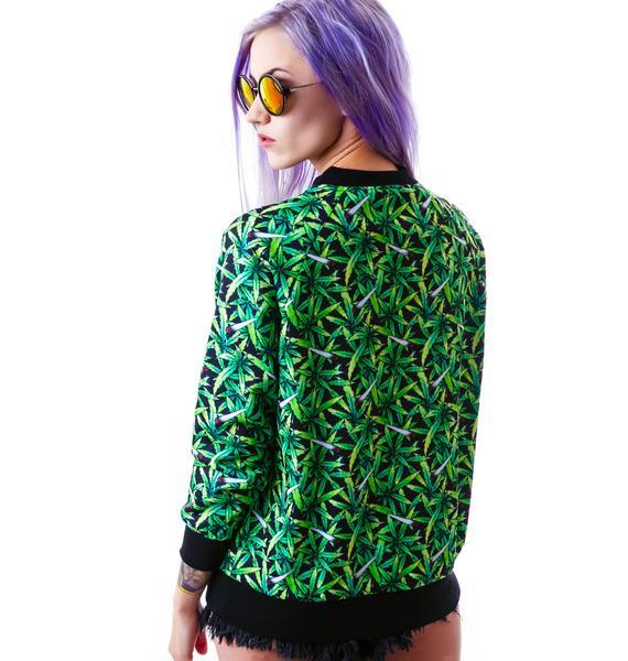UNIF Weed Sweatshirt