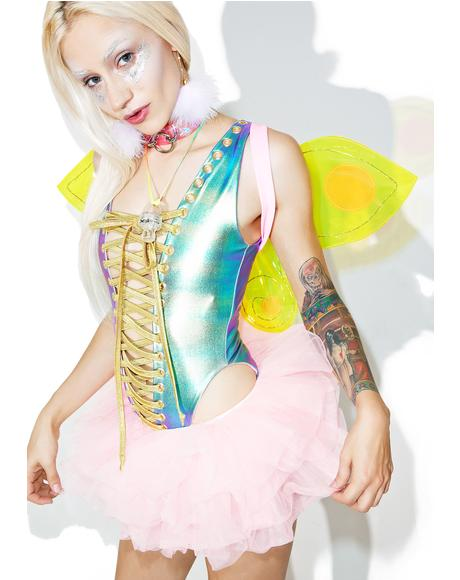 X Dolls Kill Rave Fairy Set
