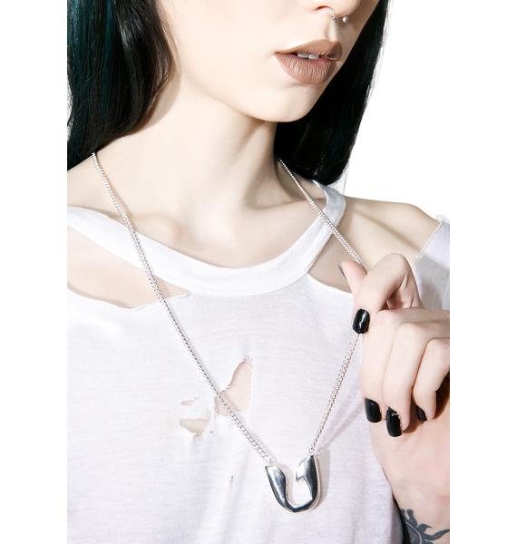 Cheap Monday Pin Necklace