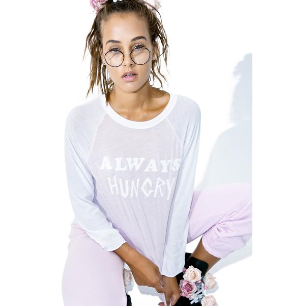 Wildfox Couture Always Hungry Rebel Raglan