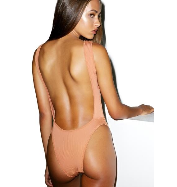 Minimale Animale The Coppertone Stuck On You One Piece Suit