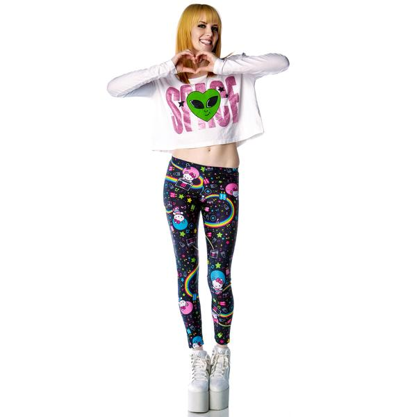 Japan L.A. Hello Kitty Afro Leggings