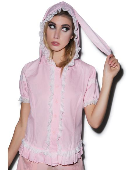 Usagi Rabbit Hooded Top