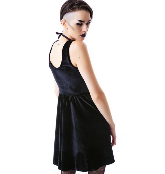 United Couture Lover Velvet Dress