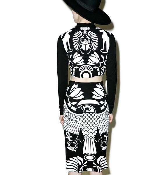 Killstar X Dolls Kill Vulture Bodycon Set