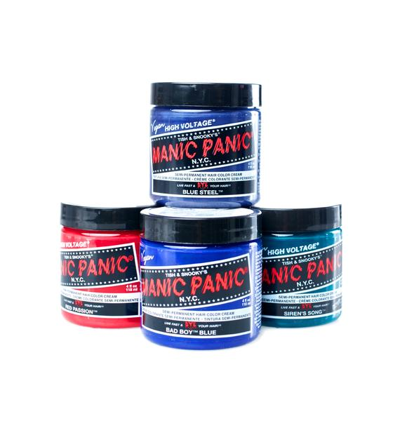 Manic Panic Blue Steel High Voltage Hair Dye