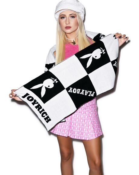 X Playboy Checker Muffler