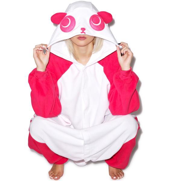 Sazac  Magenta Panda Kigurumi