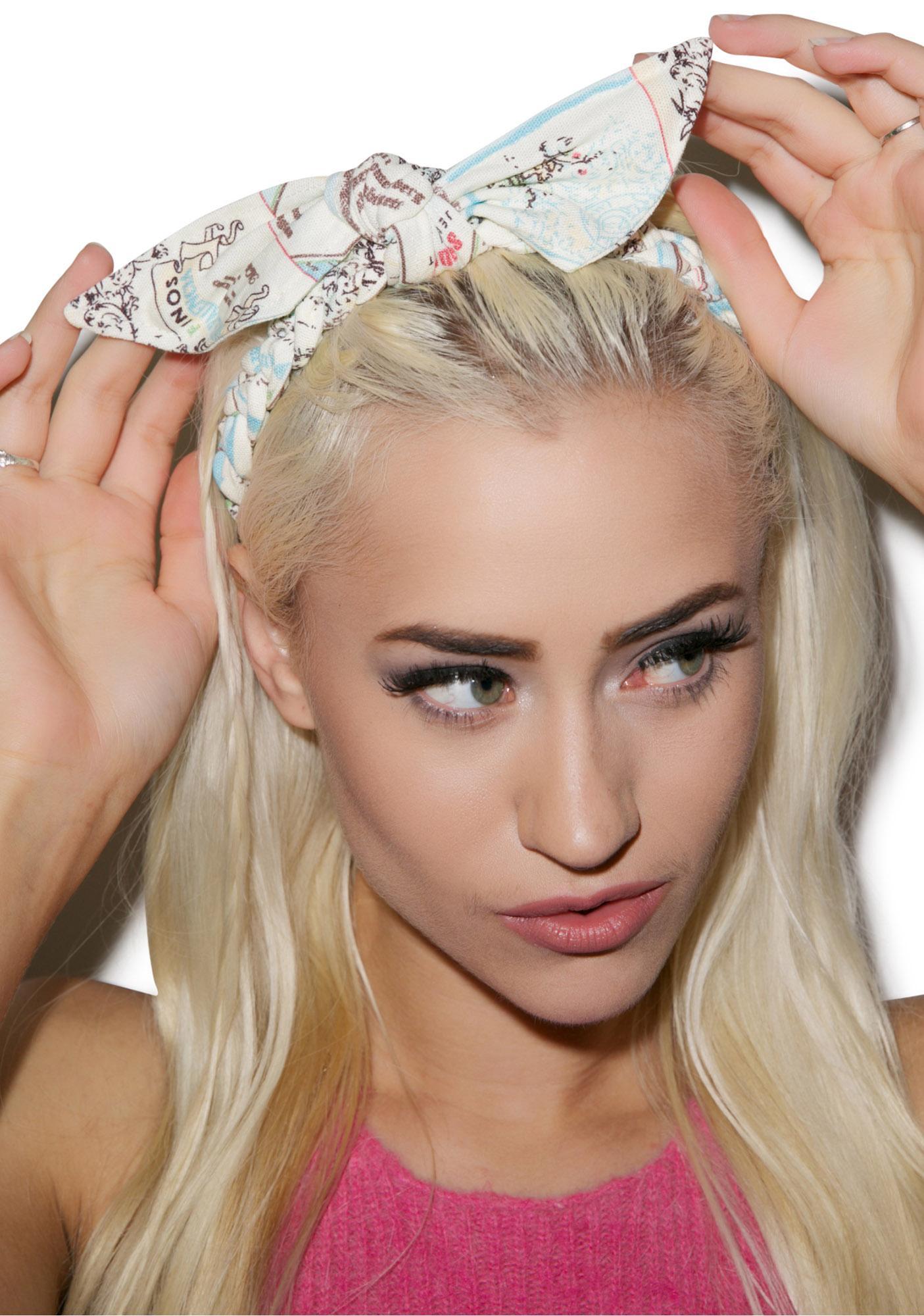 Rosie Bow Headband