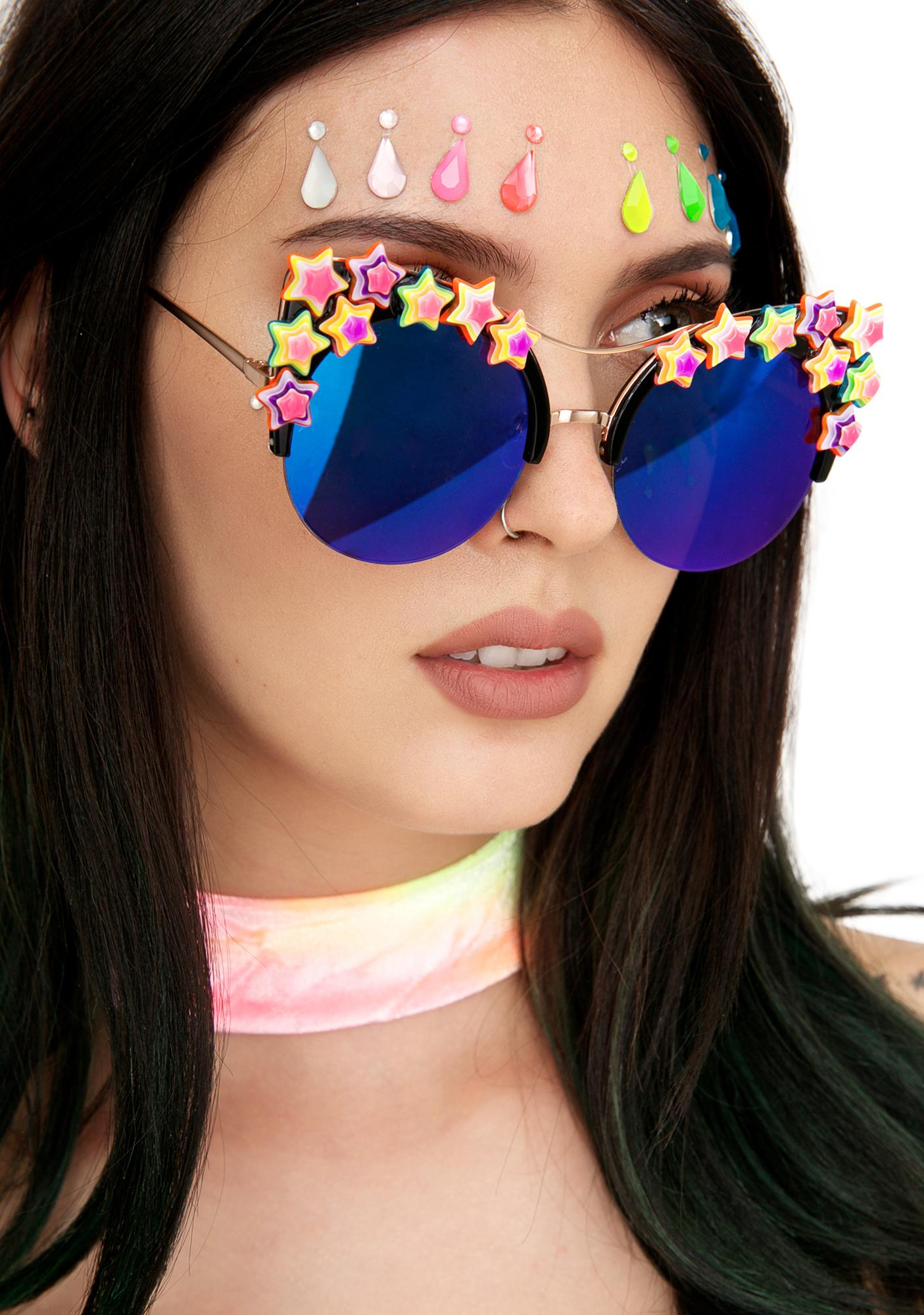 Rad and Refined Bowie Sunglasses
