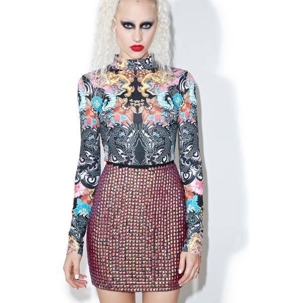 Glamorous Emilia Sequined Skirt