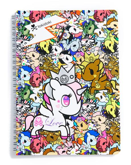 Unicornos Spiral Notebook