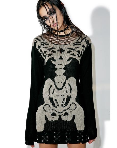 Rib Cage Sweater